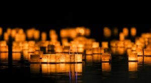 The Water Lantern Festival In Colorado That's A Night Of Pure Magic