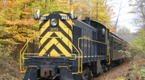 Take An Enchanting Train Ride On New York's Cooperstown And Charlotte Valley Railroad