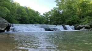 Visit Riley Moore Falls In South Carolina, A Hidden Gem Beach That Has Its Very Own Waterfall