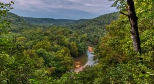 You May Not Expect Fantastic Above Ground Views Along This Trail Near Mammoth Cave In Kentucky