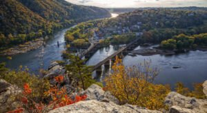 The Most Photographed View Of Harpers Ferry, West Virginia Is Actually In Maryland