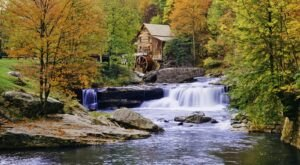 One Of The Most Photographed Mills In The World Is Glade Creek Gristmill In West Virginia