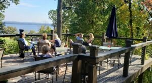 Savor Stunning Mississippi Views By The Glass At Iowa's Wide River Winery