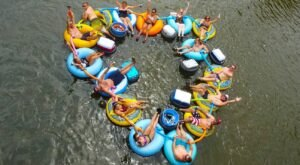 There's An Epic Summer Getaway In Iowa Called Rock-N-Row Adventures Iowa River Tubing And Camping