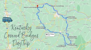 Hop In The Car And Visit 7 Of Kentucky's Covered Bridges In One Day