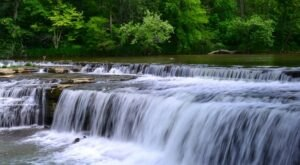 If You've Asked 'Where To Find Waterfalls Near Me,' Here's A List Of Indiana's Most Popular
