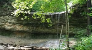 Hike Less Than A Mile To This Spectacular Waterfall At A Park In Indiana