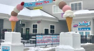 You Can Get All Your Favorite Utah ice Cream Flavors Right Here At The Scoop Drive Thru