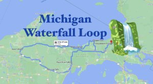 Michigan's Scenic Waterfall Loop Will Take You To 6 Different Waterfalls