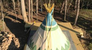 Sleep Under The Stars In A Tipi At Lost Indian Camp In Georgia