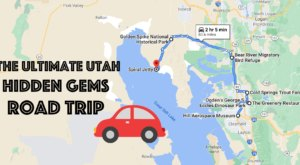 The Ultimate Utah Hidden Gem Road Trip Will Take You To 7 Incredible Little-Known Spots In The State