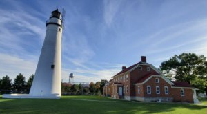 The Oldest Operating Lighthouse In Michigan, Fort Gratiot Light, Is A Beautiful Beacon Of History
