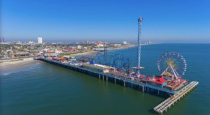 Galveston Island Historic Pleasure Pier Is An Inexpensive Road Trip Destination In Texas That's Affordable