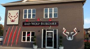 Voted Some Of The Best Burgers In Kentucky, Chow Down At Bad Wolf Burgers