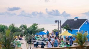 Feast On Local Fish, Burgers, And More At The Jackspot At Sunset Beach In Virginia
