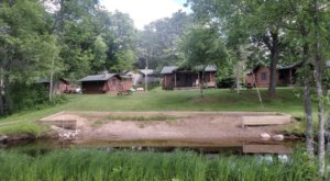 Reconnect With Nature When You Stay At This Rustic Log Cabin Resort In Michigan