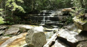 The Hike To This Secluded Waterfall In New Hampshire Is Positively Amazing