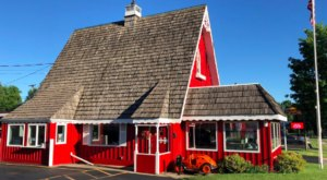 Housed In A Big Red Barn, The Small-Town Minnesota Dairyland Restaurant Is As Adorable As It Is Delicious