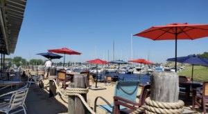 Embrace The Caribbean Vibes At Dockers Fish House, A Colorful Waterfront Restaurant In Michigan