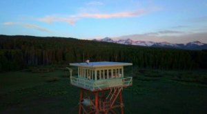 You Can Stay The Night In A Mountain Shelter At The Jersey Jim Fire Lookout Tower In Colorado