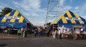 Shop 'Til You Drop At Folsom Boulevard Flea Market, One Of The Largest Flea Markets In Northern California