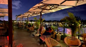 The Citadel Food Hall In Florida Has A Rooftop Lounge With Impressive Skyline Views
