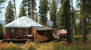 Sleep Inside A Solar Yurt This Summer At This Secluded Montana Airbnb