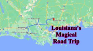 The Fairytale Road Trip That'll Lead You To Some Of Louisiana's Most Magical Places