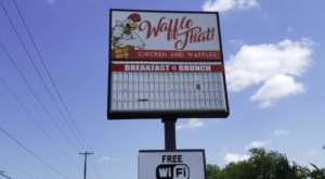 For The Most Outrageously Delicious Waffle Creations, Visit Waffle That In Oklahoma
