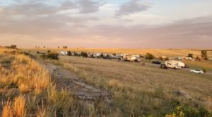Camp Under The Endless Prairie Skies At North Sterling State Park In Colorado