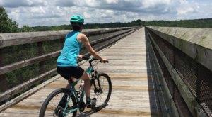 Take An Unforgettable Bike Ride Across High Bridge Trail State Park In Virginia