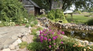Tranquility Awaits When You Stroll And Shop At Stone Cottage Gardens In Michigan