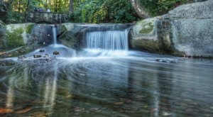 David Fortier River Park In Greater Cleveland Is A 5 Acre Adventure With A Waterfall Finish