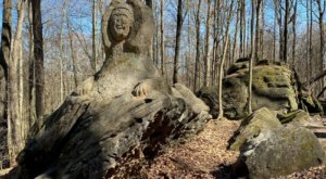 You Can Spot More Than 10 Carvings At Worden's Ledges In The Cleveland Metroparks