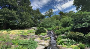 New York's Rock Garden And Grotto In The New York Botanical Garden Is A Work Of Art