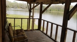 You'll Have A Front Row View Of The Mississippi Baird Lake In These Cozy Cabins
