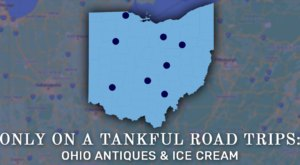 Experience Ohio's Best Antiques And Ice Cream Only On One Tank Of Gas