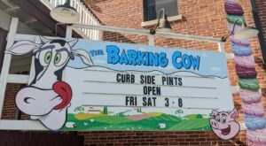 Enjoy Hearty Heaps Of Homemade Ice Cream At The Barking Cow In Indiana