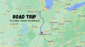 Spend The Day Exploring Illinois' Tallest Falls On This Wonderful Waterfall Road Trip