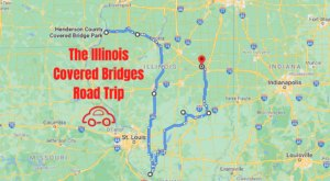 Hop In The Car And Visit 7 Of Illinois' Covered Bridges In One Day