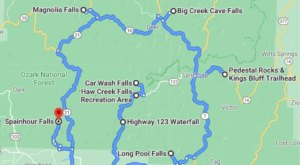 Arkansas' Scenic Waterfall Loop Will Take You To 13 Different Waterfalls