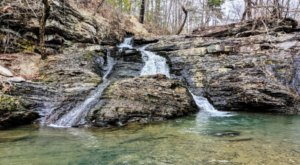 Explore The Easily Accessible Crooked Creek Falls For A Gorgeous Arkansas Adventure