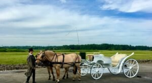 Take A Carriage Ride Through The Countryside For A Truly Unique Connecticut Experience