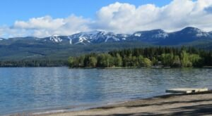 Whitefish City Beach Is A Beachfront Attraction In Montana You'll Want To Visit Over And Over Again