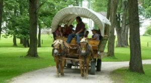 Explore Blennerhassett Island By Covered Wagon For A Nostalgic Experience In West Virginia