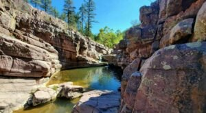 Hike Less Than One Mile To This Spectacular Waterfall Swimming Hole In Arizona