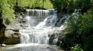 Take This Easy Trail To An Amazing Triple Waterfall In Kansas