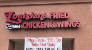 Louisiana Fried Chicken And Wings Is A Hole-In-The-Wall Restaurant In Arizona With Some Of The Best Fried Chicken In Town