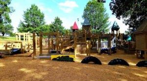There's A Fairy Tale Playground, Swimming Pools, And A Scenic Pond At Alabama's Dublin Park