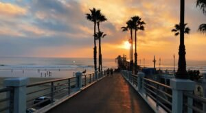 At Almost 2,000 Feet Long, Oceanside Pier In Southern California Is The Longest Wooden Pier On The West Coast